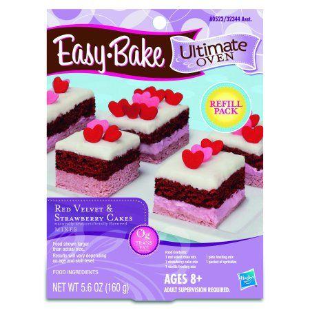 Easy Bake Ultimate Oven Red Velvet Cupcakes Refill Pack Playset 4.1 oz