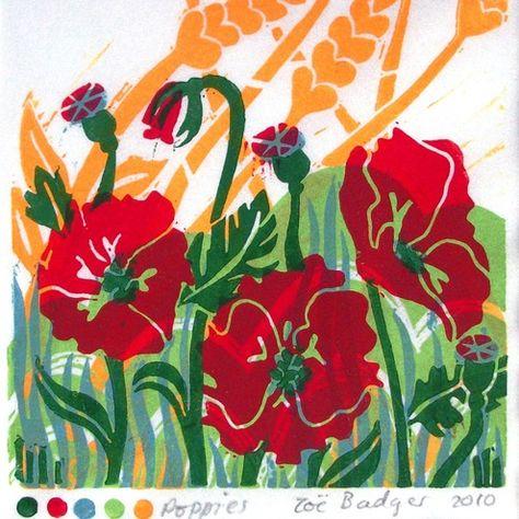Another beautiful print from Zoe Badger. --    ilovehandmadeblog.blogspot.com