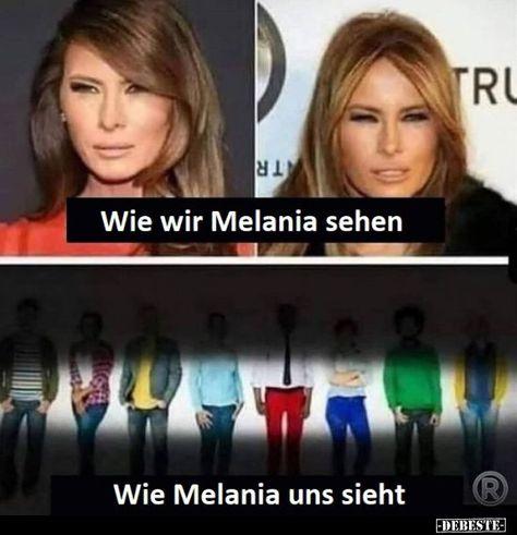 Come vediamo Melania ..