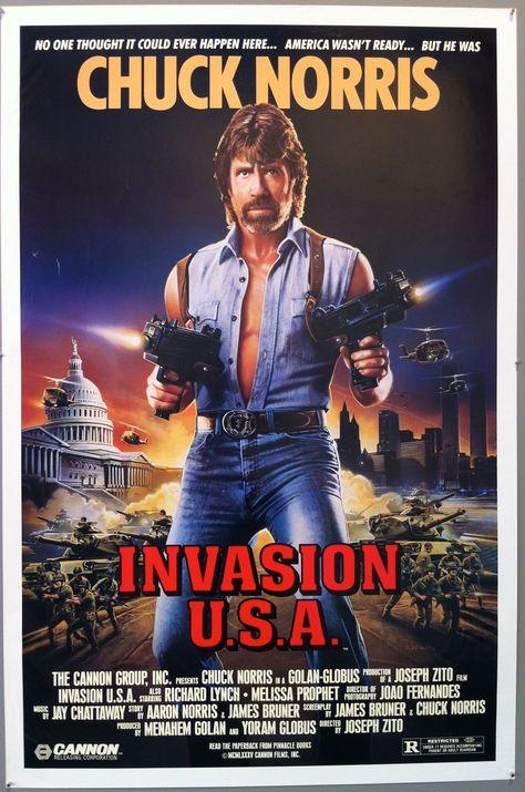 Invasion U.S.A. - 27x41 / U.S.A, 1985