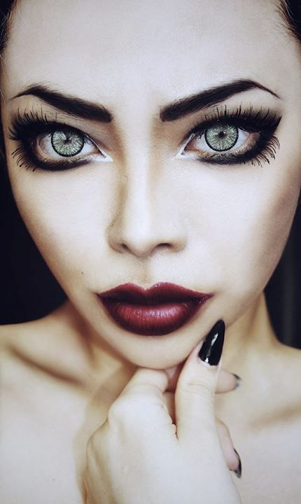 69 best Halloween makeup artistry images on Pinterest | Halloween ...
