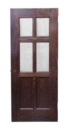 Entry Doors 4 Glass Pane Oak Wooden Door October 31 2019 At 06 39pm Wooden Doors Antique Glass Entry Doors