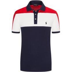 Poloshirt Custom Slim Fit Von Polo Ralph Lauren In Marine Fur Herren Ralph Lauren In 2020 Shirts Polo Ralph Lauren Und Baumwolle