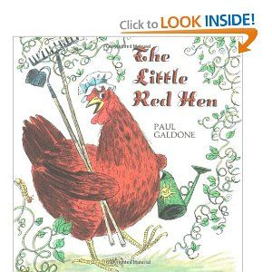 FairyTale Theme - The Little Red Hen by www.pre-kpages.com