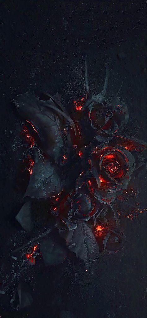 Trendy Wallpaper Iphone Black Roses 35 Ideas Gothic Wallpaper Black Roses Wallpaper Rose Wallpaper