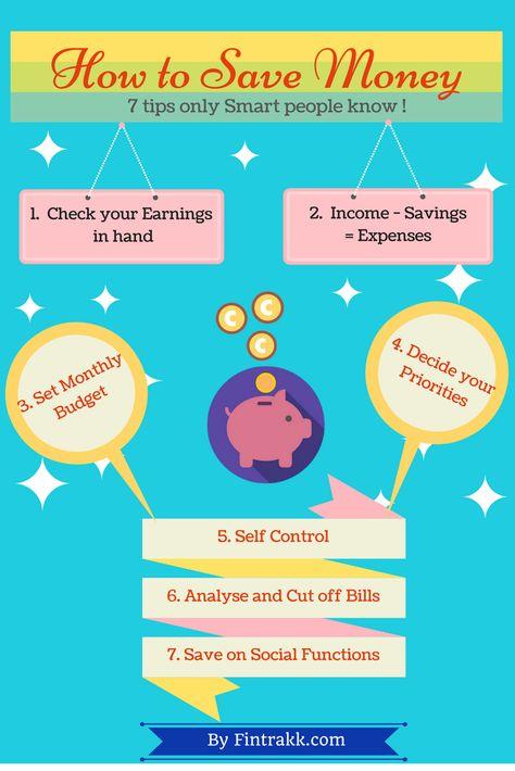 Money Saving tips : Infographic !