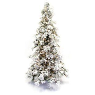 online retailer f7f5d d95c6 Flocked Christmas Trees You'll Love | Wayfair.ca | Christmas ...