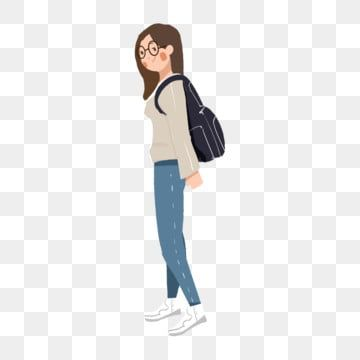 Japanese Cute Girl Hand Painted Japanese Girls Cartoon Character Illustration Cute Female College Student Cute Girl Clipart Japanese Student Illustration Png Girl Cartoon Characters Illustration Girl Girl Cartoon