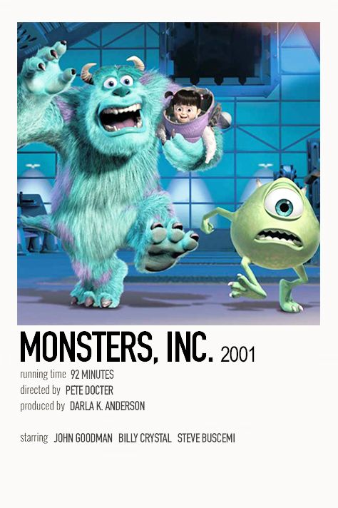 Monsters, Inc. by Jessi