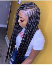 African Braids for Black Women. african american hairstyles, box braids, cornrow... - bun hairstyle - #African #American #BLACK #Box #Braids #BUN #cornrow #Hairstyle #Hairstyles #Women