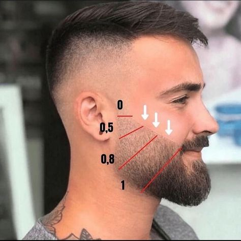 Beard Cut Style, Beard Cuts, Beard Fade, Beard Look, Faded Beard Styles, Long Beard Styles, Beard Styles For Men, Hair And Beard Styles, Goatee Styles