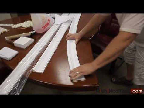 Arching Molding - polyurethane molding --YouTube