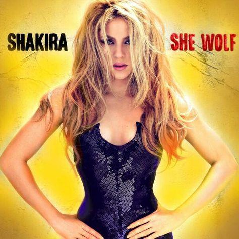Shakira she Wolf  2e20f3296