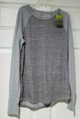 NWT-New/_JOSEPH ABBOUD Crewneck T-Shirt/_Cotton /& Linen/_Sz.2XLT/_Light Tan/_Pocket