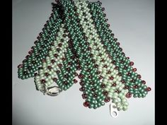 Best Seed Bead Jewelry 2017 How to make tripple or more st-petersburg stitch Seed Bead Tutorials