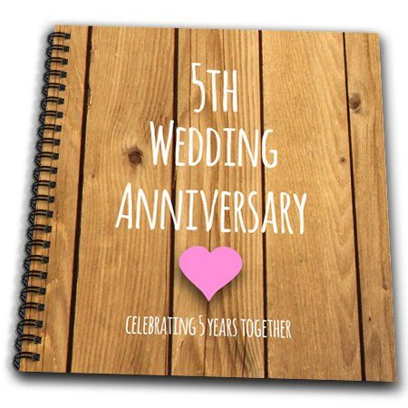 Fifth Wedding Anniversary Gifts For Her Wood Anniversary Gift