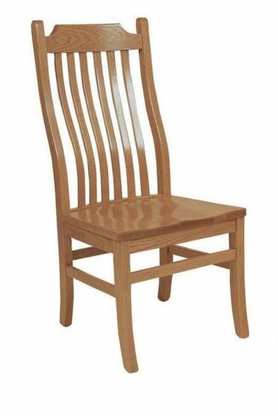 Amish Bent Mission Dining Chair Amish Bent Mission Dining Chair