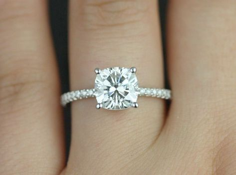 Diamond Engagement Rings Kalyan Vintage Engagement Rings Etsy