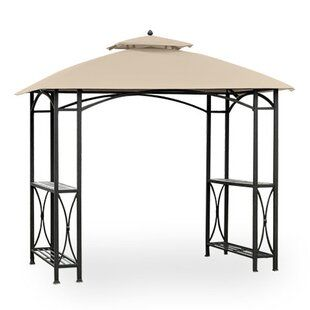 Garden Winds Tile Grill Gazebo Replacement Canopy Wayfair En 2020 Canopy Gazebo Toldo