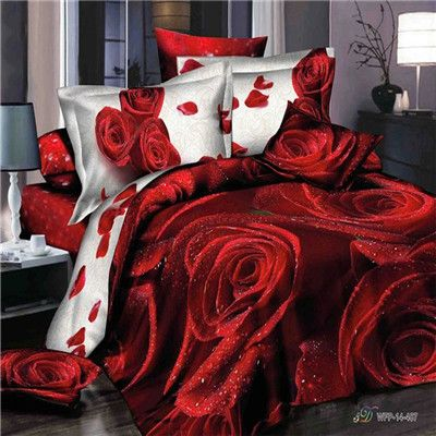 3d Bed Sheets بحث Google With Images Rose Bedding Bedding