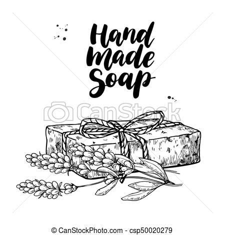 Image Result For Handmade Soap Clipart Handmade Natural Soaps Chalkboard Lettering Handmade Soap