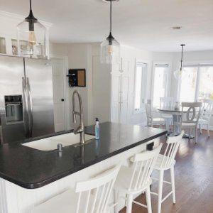 City Glass Pendant In 2020 Kitchen Design Small Kitchen Remodel Modern Kitchen Tiles