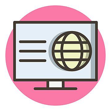 ويب تصميم أيقونات متصفح أيقونة المتصفح تصميم Png والمتجهات للتحميل مجانا Icon Design Design Webpage