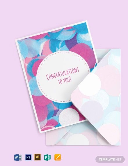 Congratulations Greeting Card Template Word Doc Psd Apple Mac Pages Illustrator Publisher Free Greeting Card Templates Greeting Card Template Congratulations Greetings