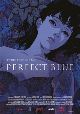Perfect Blue 1997 Poster In 2020 Animated Movie Posters Blue Poster Anime Films