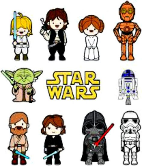 65 Star Wars Design Nail Art Manicure Tips Sticker Decal Diy Decoration