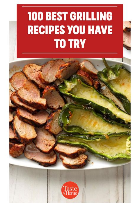 Looking for new grilling recipes to try this summer? We've got 100 reasons for you to light the grill and enjoy the great outdoors.