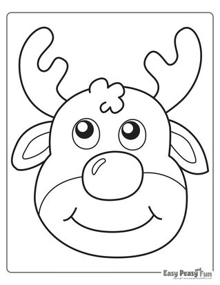 Christmas Coloring Pages Christmas Coloring Pages Easy