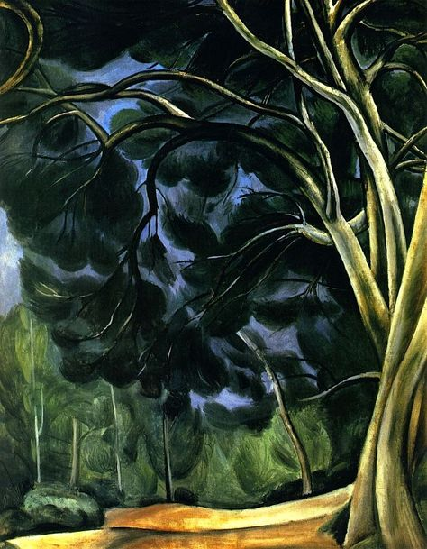 Image result for 1913 forest paintings