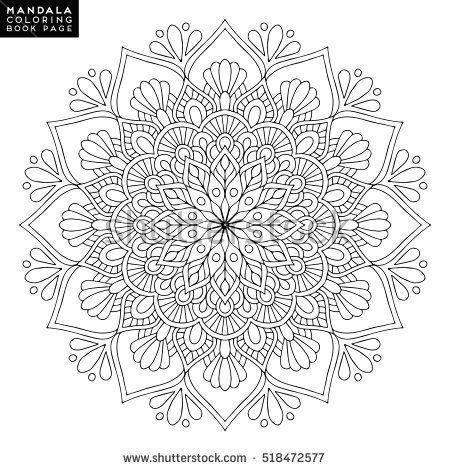 Mandala Vektor Mandala Blumen Mandala Blumen Mandala Orientalisches Mandala Farbe Mand Hochzeit Malvorlagen Mandala Malvorlagen Muster Malvorlagen