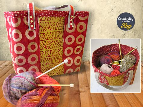 Creativity is in the Bag: Jumbo Carryall   Sew4Home