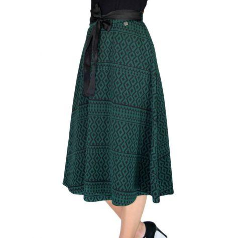 ZINO JORDAN Ψηλόμεση μίντι ασπρόμαυρη φούστα  9134adb1faa