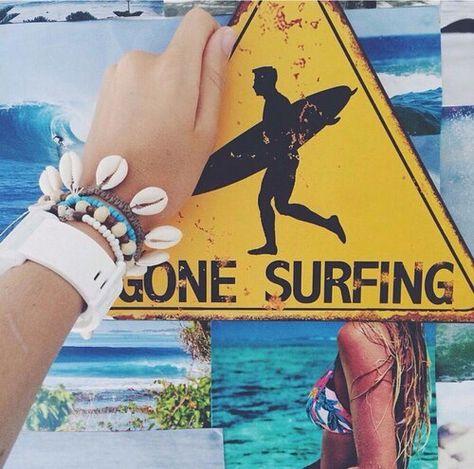 Handmade Personnalisé rustique en bois Beach Hut Bord De Mer Surf surfing Signe Plaque