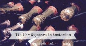 Tip 10 – Wijnbars in Amsterdam