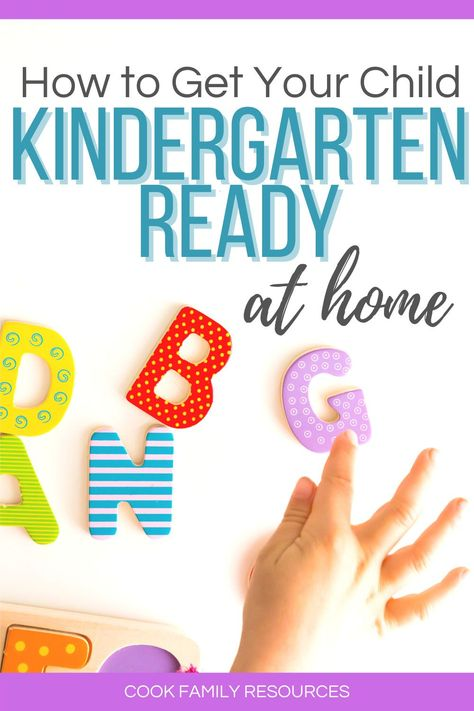 How to get your child kindergarten ready at home. This post gives parents tips for getting ready for kindergarten at home.  Whether you are looking for help with how to teach kindergarten at home or you are looking for kindergarten readiness activities, this post has some very good literacy activities for kindergarten at home. #kindergartenreadinessparents #kindergartenskills #kindergartenready