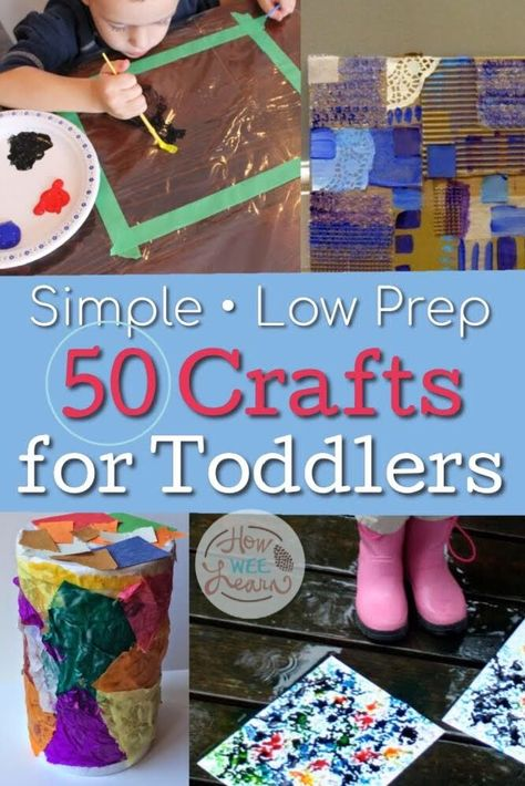 50 PERFECT Crafts for 2 Year Olds! 50 simple crafts for 2 year olds! These easy crafts focus on the process and are meant for two year olds to do all on their own. So many fun toddler craft ideas! Toddler Arts And Crafts, Arts And Crafts For Adults, Toddler Art Projects, Easy Arts And Crafts, Crafts For Kids, Simple Crafts, Summer Crafts, Fun Crafts, Art Activities For Toddlers