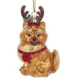 Pomeranian Christmas Ornament Teacup