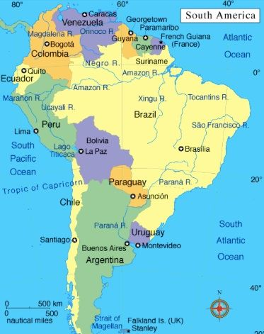 Best US Embassies South America Images On Pinterest South - Map of us embassies in mexico