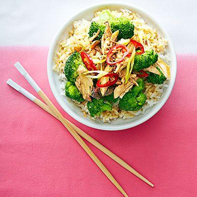 Slow Cooker Sesame-Garlic Chicken #easydinners #chickenrecipes
