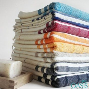 White With Block Color Stripe Wholesale Turkish Towel Manufacturers Suppliers With Images Turkish Towels Bathroom Turkish Bath Towels Turkish Bath