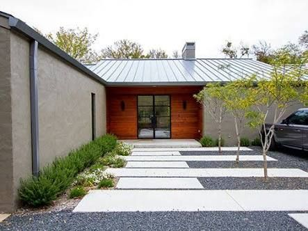 Image Result For Modern Concrete Driveways Modern Driveway Modern Landscaping Modern Landscape Design