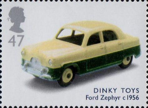 Corgi Toys Ford Zephyr Dutch Export Politie Motorway Police Car