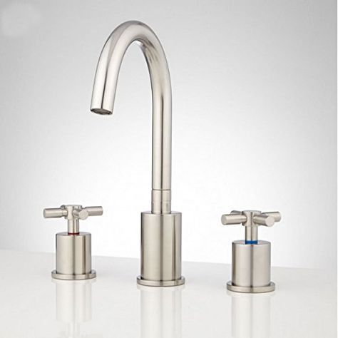 Basin Faucet Widespread Sink
