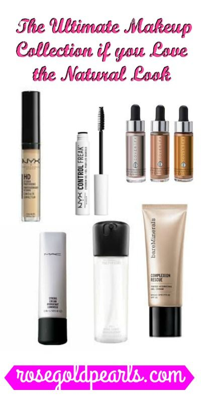 Must Have Products For A Flawless Natural Makeup Look Natural