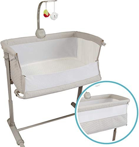 New Baby Bassinets Adjustable Easy Assemble Bassinet Baby