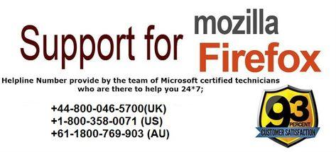 Mozilla Firefox Tech Support+44-800-046-5700 Helpline Phone Number UK